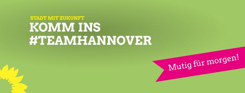 Komm ins #TeamHannover