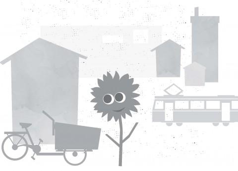 Sonnenblume - Wohnen und Verkehr
